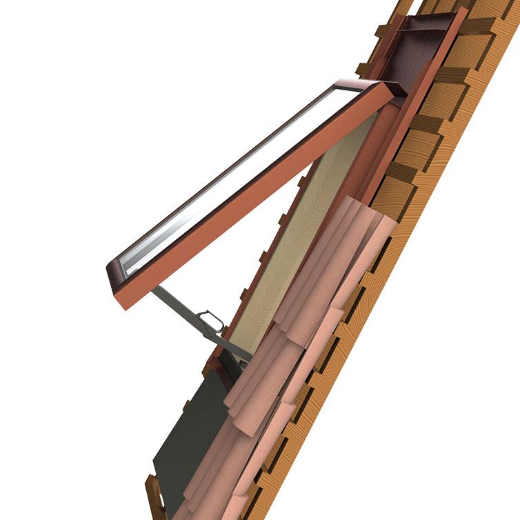 ch ssis sur toiture tuile ch ssis grandes ondes tuile haute fort galbe t i t7 skler. Black Bedroom Furniture Sets. Home Design Ideas